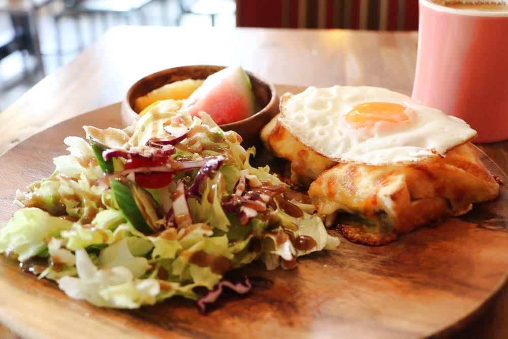 四號公園咖啡廳 貓的美味之夢 工作型咖啡廳 法式早午餐 近四號公園 永安市場站