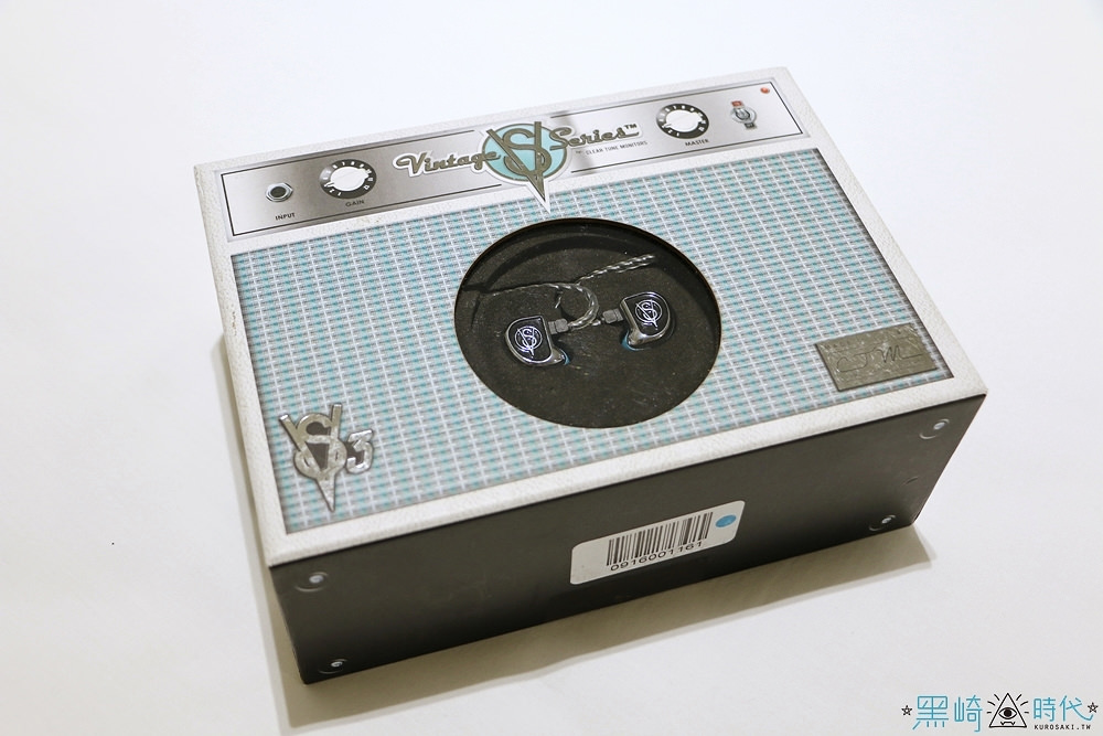 耳機開箱 VS-3 三動鐵單元耳機 監聽取向耳機 音質好的沒話說