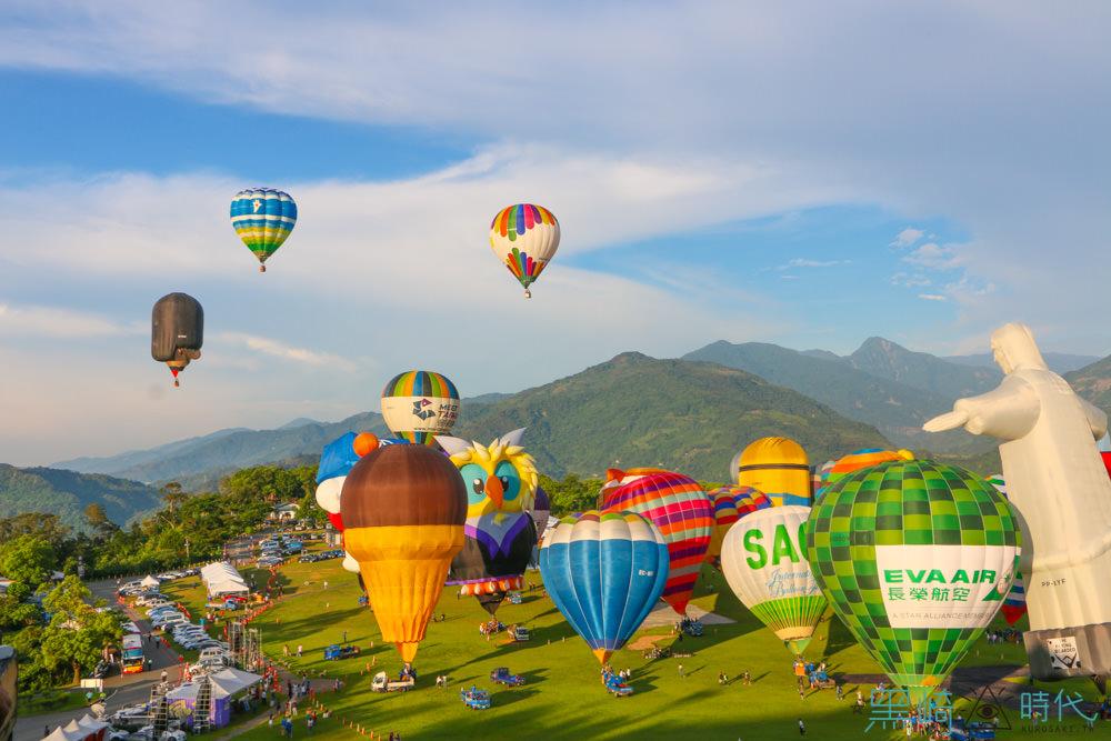 台東熱氣球與金針花季一起綻放暑假花東吧!6/30 熱氣球開幕紀錄